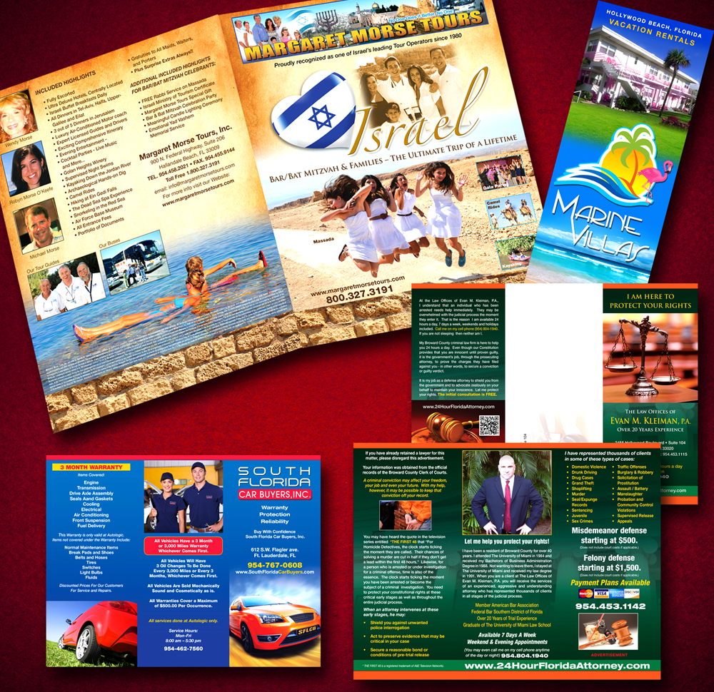 Brochure Design South Florida
